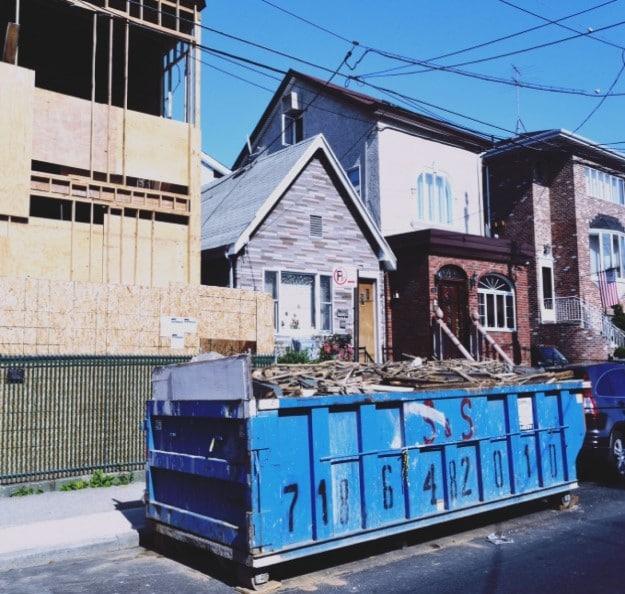 débarras et démolition avec location benne Bresles  (60)